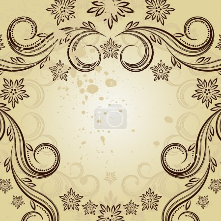 Illustration for Vintage frame - an illustration for your design project. - Royalty Free Image