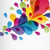 Eps10 Colorful splash Illustration for your design