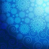 EPS vánoční modré pozadí
