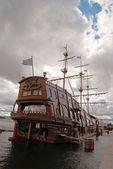 Big sailing-ship