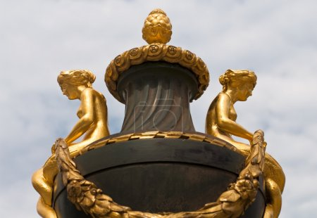 Two Nymphs at the Golden Vase