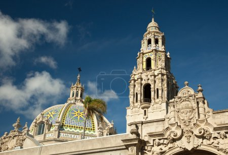 Tower Dome at Balboa Park, San Diego