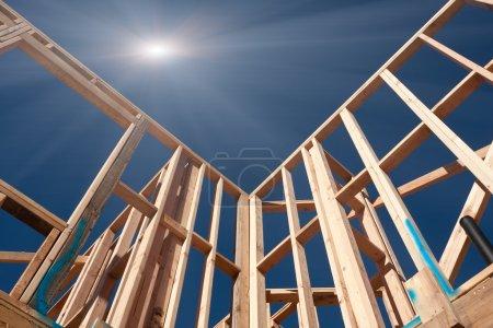 New Construction Framing Abstract