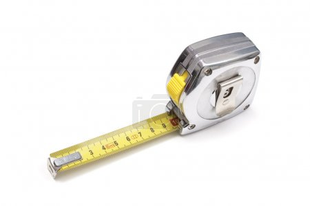 Photo for Tape measure isolated on white background - Royalty Free Image
