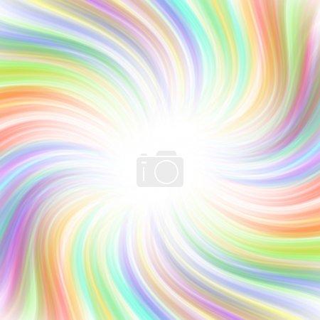 Foto de Colorido y hermoso arco iris remolino fondo - Imagen libre de derechos