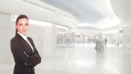 Photo for Business woman at the shopping mall - Royalty Free Image