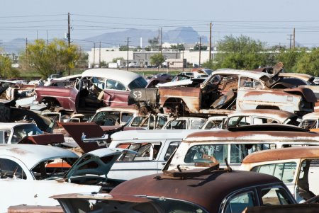 Auto Salvage Yard