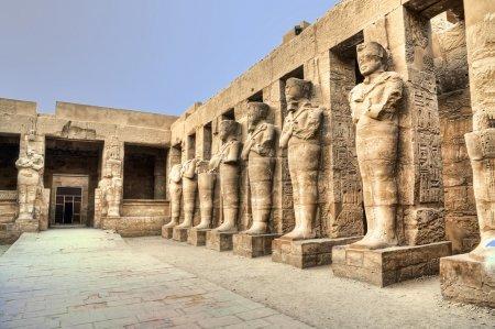 Karnak temple in Luxor, Egypt...