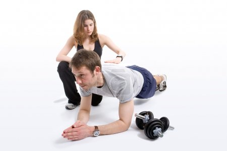 Photo for Female trainer working with her trainee - Royalty Free Image