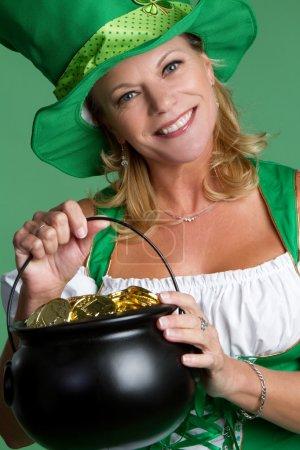 St Patricks Day Woman
