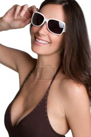Sunglasses Bikini Woman