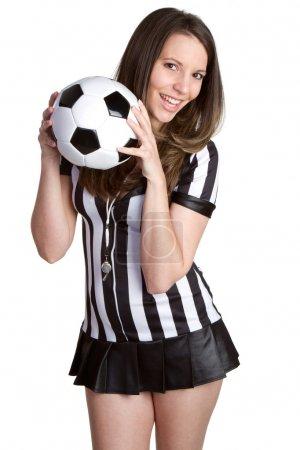 Sexy Soccer Referee