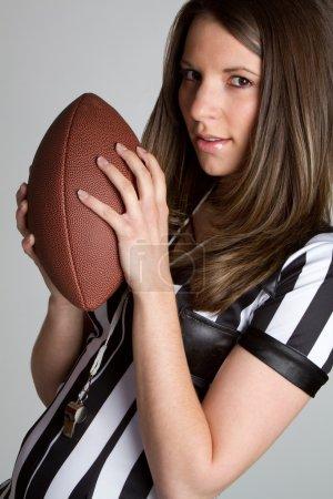 Football Referee Girl