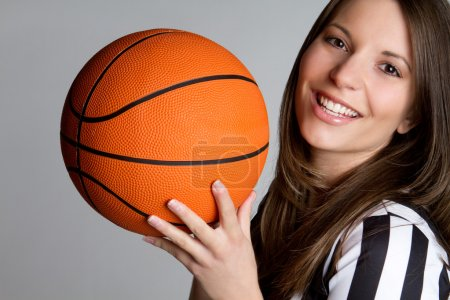 Basketball Referee Girl