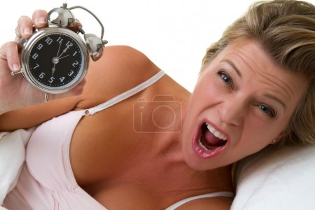 Alarm Clock Woman