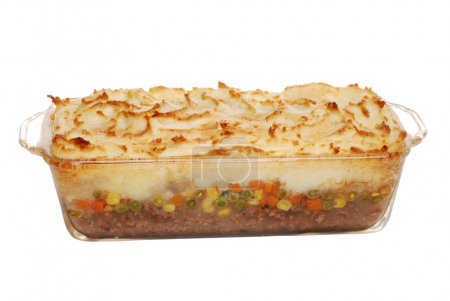 Hot homemade shepards pie