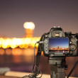 Digital cameras and the city night...