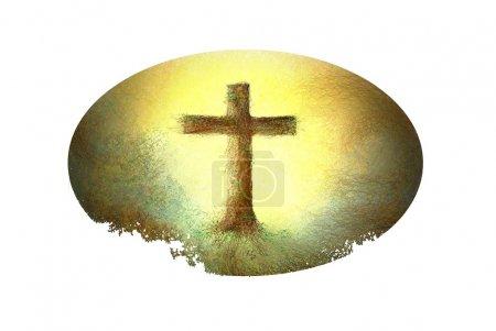 Photo pour Traverser pour Pâques ou le vendredi - image libre de droit