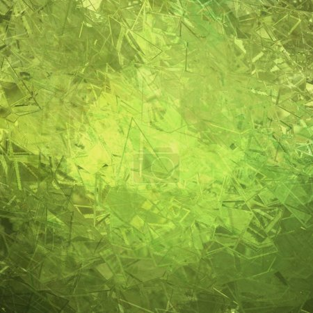 Abstract Green Glass Background