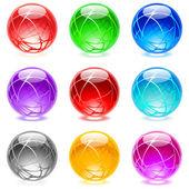 Glossy spheres