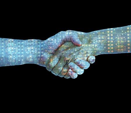 Techno Handshake