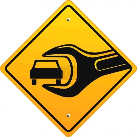 Photo pour Auto Hilfe - image libre de droit