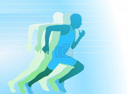 Läufer- Sprinter