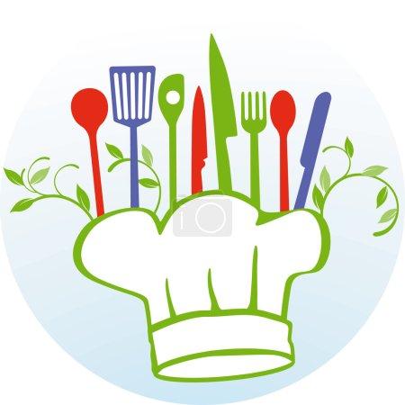 Illustration pour Faire sa propre cuisine - image libre de droit