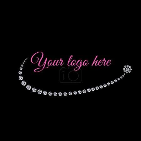 Photo for Shiny logo element - Royalty Free Image