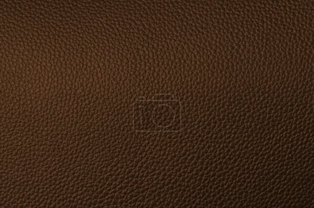 Photo for A natural brown leather texture. close up. - Royalty Free Image