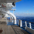 Stock pictures of the deck on a cruise ship...
