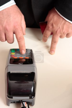 Credit card eftpos transaction