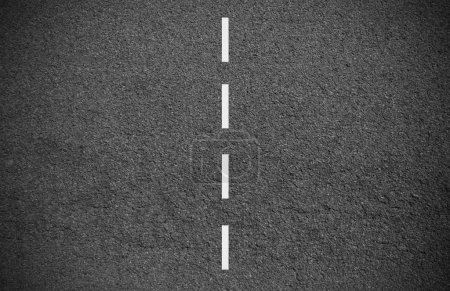 Photo for Closeup on the asphalt of a street - Royalty Free Image