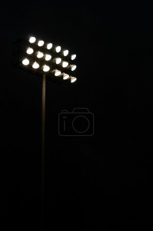 Sports Stadium LIghts at Night