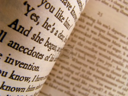 A Close-up of Some Pages of a Classic Novel...