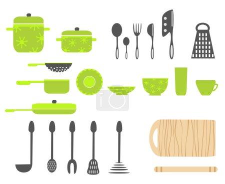 Illustration for Kitchen utensils - Royalty Free Image