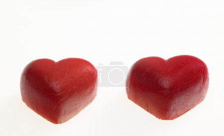 Marchpane hearts...