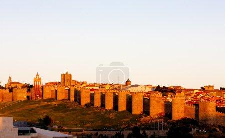 Avila, Castile and Leon, Spain...