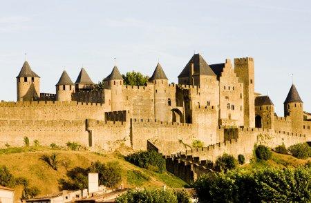 Photo pour Carcassonne, Languedoc-Roussillon, France - image libre de droit