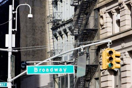Photo pour Broadway, Manhattan, New York, ÉU - image libre de droit