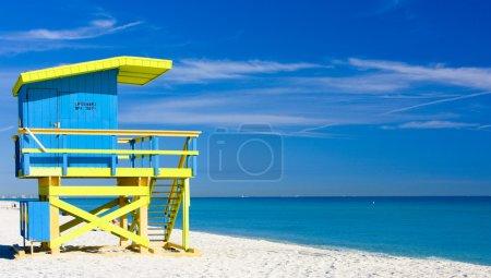Foto de Cabaña en la playa, miami beach, florida, usa - Imagen libre de derechos