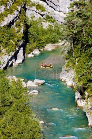 Rafting, Verdon Gorge, Provence, France...