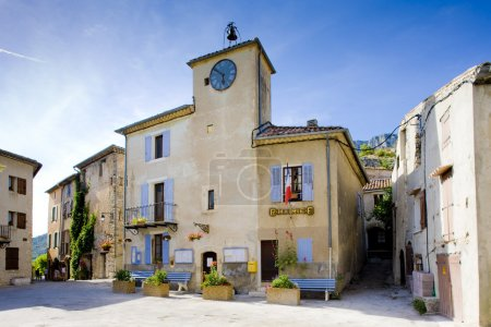 Town hall, Rougon, Provence, France...