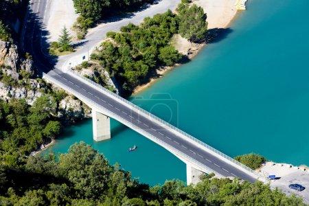 Photo pour Lac Sainte Croix, Les Gorges du Verdon, Provence, France - image libre de droit