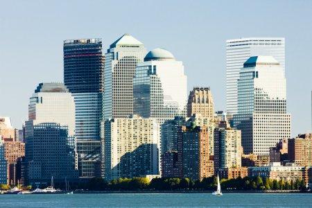 Photo pour Manhattan, ville new york, Etats-Unis - image libre de droit