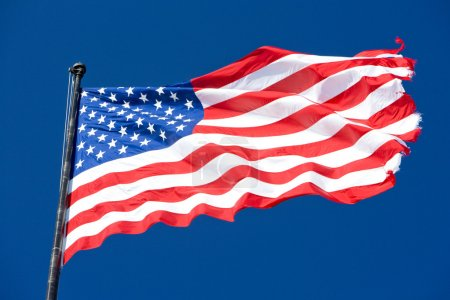 Photo for The USA flag - Royalty Free Image