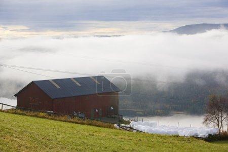 Photo pour Paysage près de Hegge, Norvège - image libre de droit