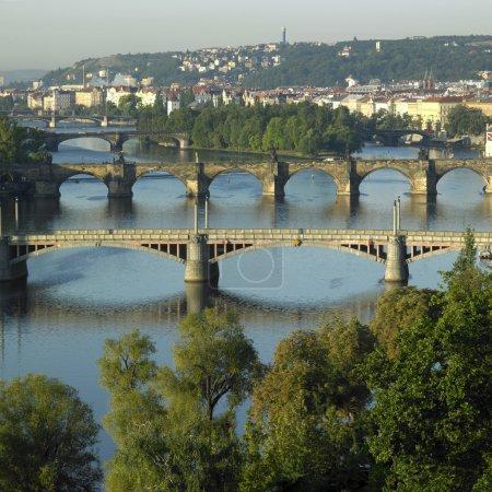 Foto de Puentes, Praga, Chequia - Imagen libre de derechos
