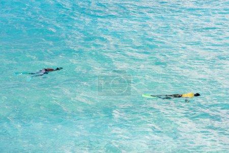 Snorkeling, Southern coast of Barbados, Caribbean