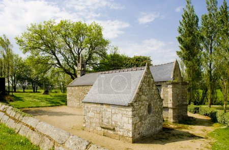 Chapel of Saint-Jean-Baptiste near Saint-Vougay